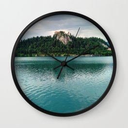 The Magical Lake Bled (Slovenia) Wall Clock