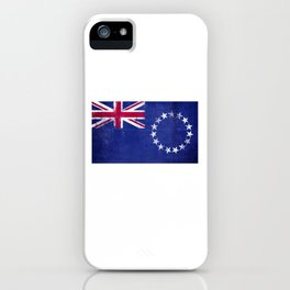 Cook Islands Flag design | Cook Islands Maori design iPhone Case