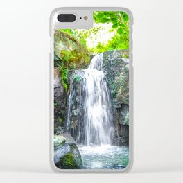 Lumsdale Falls. Clear iPhone Case