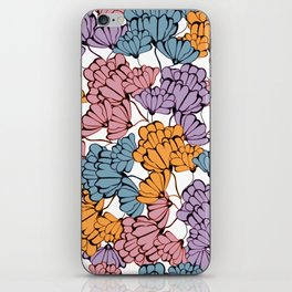 Dusty Blooms iPhone Skin