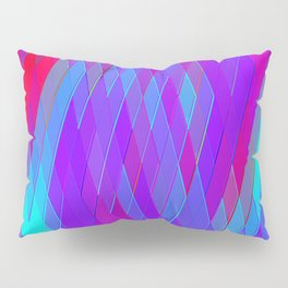 Re-Created Vertices No. 17 by Robert S. Lee Pillow Sham