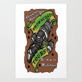 Browncoats Tours Art Print