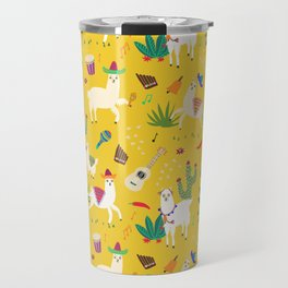 Alpacas & Maracas  Travel Mug