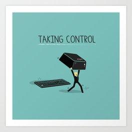 Taking Control Art Print