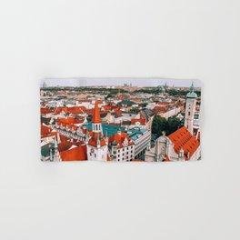 Hues Line is it Anyway? | Munich, Germany Hand & Bath Towel