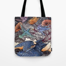 Together We Face The Storm Tote Bag