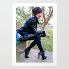 Fashion Pic Art Print
