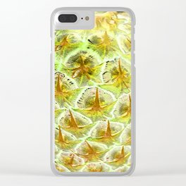 stars of pineapple Clear iPhone Case