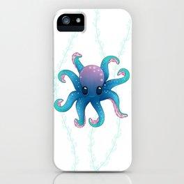 Octopus friend iPhone Case