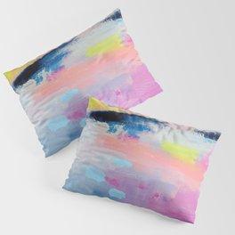 Dreamy Abstract pink Art  Pillow Sham