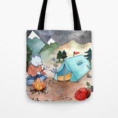 Greetings from Camp! Tote Bag