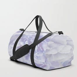 Flower Bouquet In Pastel Blue Color - #society6 #buyart Duffle Bag