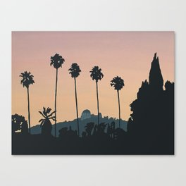 Franklin Avenue Canvas Print