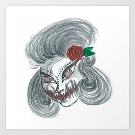 Deadly beautiful Art Print