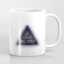 Magic Eight Ball, I Have No Idea Coffee Mug
