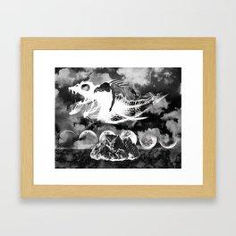 Fishbone Framed Art Print