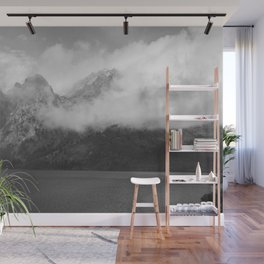 Mountain and Water Wall Mural