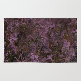 Oil and Strawberry Milk Rug