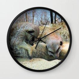 Very tired... Wall Clock
