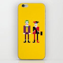 Joker and Harley Quinn iPhone Skin