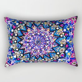 Orb Weaver Mandala Rectangular Pillow