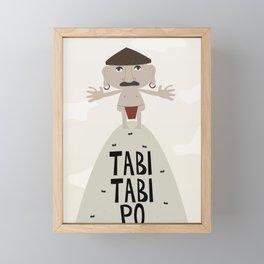 Tabi Tabi Po (Philippine Mythological Creatures Series) Framed Mini Art Print