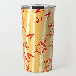 Happy Bright Bamboo Travel Mug