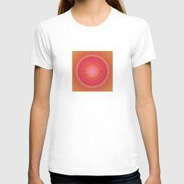 Glowing Heart Mandala T-shirt