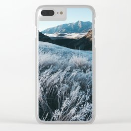 Frosty Morning in Arthur's Pass Clear iPhone Case