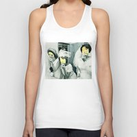 picasso Tank Tops featuring Painting Picasso by Marko Köppe