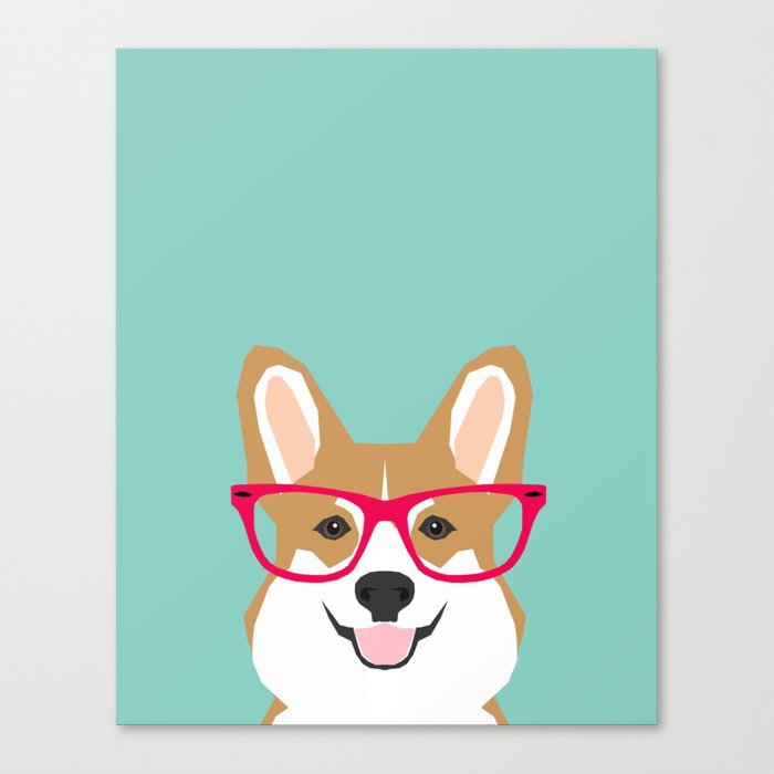 Teagan Glasses Corgi Cute Puppy Welsh Corgi Gifts For Dog Lovers And