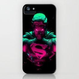 Man Of Steel 4 iPhone Case