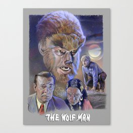 The Wolf Man (1941) Canvas Print