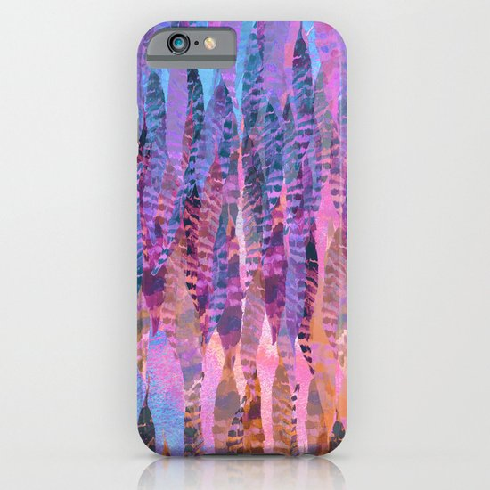 Tie Dye Feathers iPhone & iPod Case