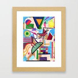 Dizzy Staircase Framed Art Print