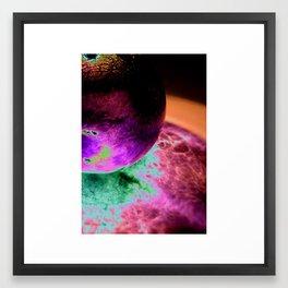 Globeadelic Framed Art Print