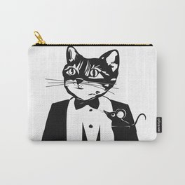 Cat in a dinner jacket Carry-All Pouch