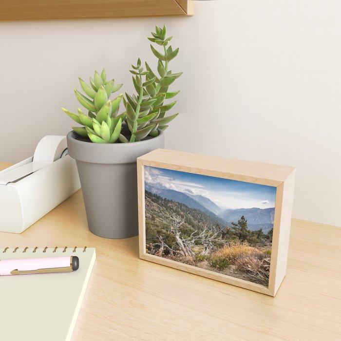 Inspiration Point along Pacific Crest Trail Framed Mini Art Print