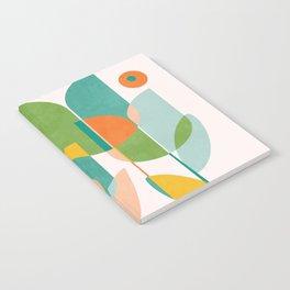 floral shapes IV Notebook