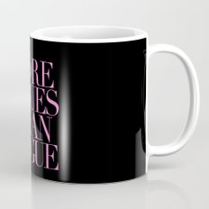 MORE ISSUES {PINK} Mug