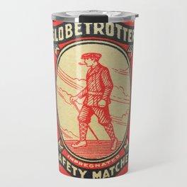 Old Matchbox label #12 Travel Mug