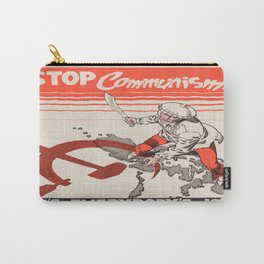 Vintage poster - Stop Communism Carry-All Pouch