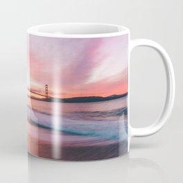 Washed-up Treasure Chest at Kirby Cove - San Francisco, California Coffee Mug