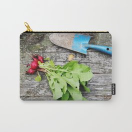 Radishes and garden shovel Carry-All Pouch