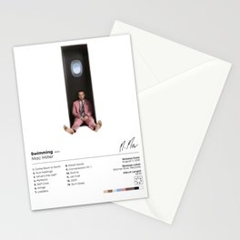 Mac Miller - Swimming Album SpecCover Poster Print - UK and US Paper Sizes Stationery Cards