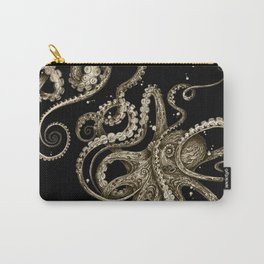 Octopsychedelia Sepia Carry-All Pouch