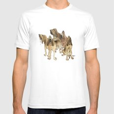 Hounds Mens Fitted Tee White MEDIUM