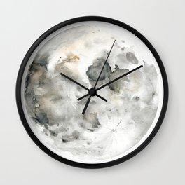Bare Moon Wall Clock