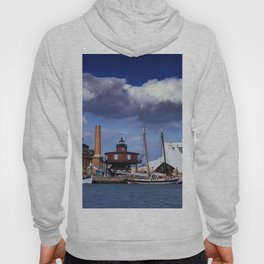 Seven Foot Knoll Lighthouse in Baltimore Harbor Hoody