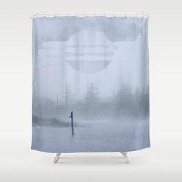 Waterline Shower Curtain